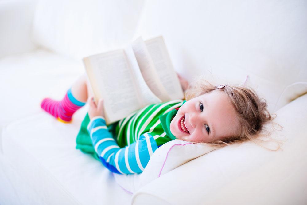 Making reading at home fun